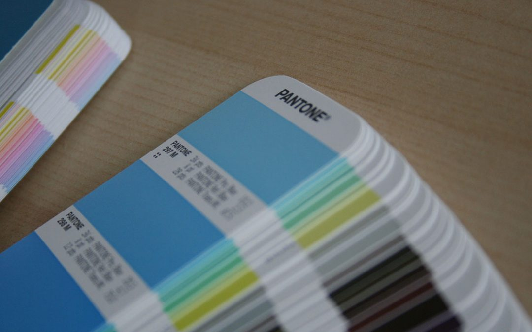 Image of pantone book
